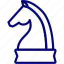 bukeicon, business, finance, horse, strategy, tactics icon