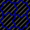 bukeicon, jigsaw, problem, puzzle, solution, solver