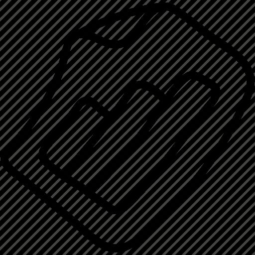 bar, chart, document, graph icon