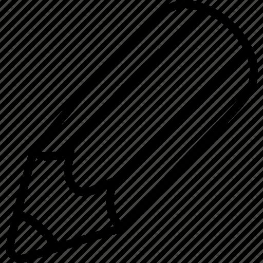 draw, edit, pencil icon