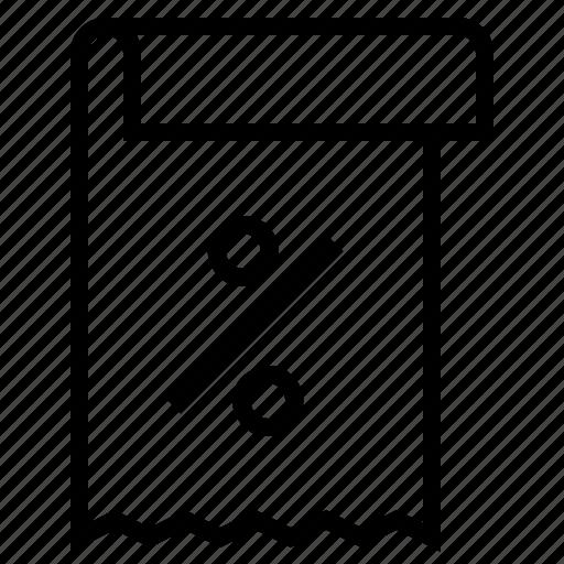 business, income tax, tax document, tax file, tax letter, tax paper, tax statement icon