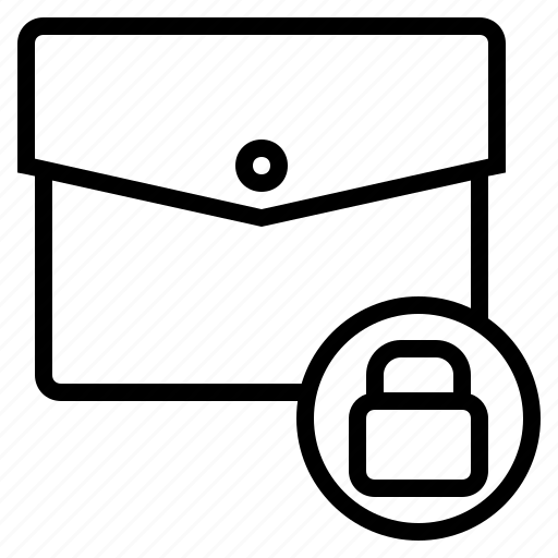 bag, briefcase, business, business briefcase, document briefcase, secure document, work briefcase icon