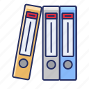 archive, files, folders icon
