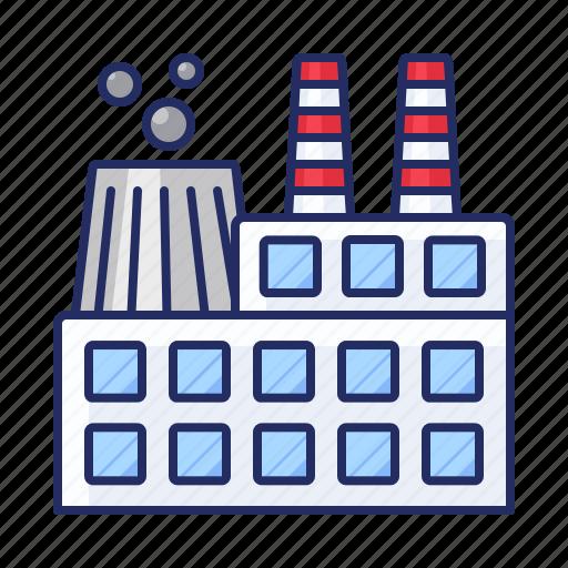 enterprise, factory, works icon
