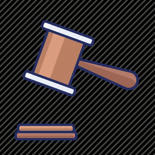 court, judge, justice icon