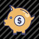 moneybox, piggy bank, savings