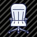 armchair, chair, office