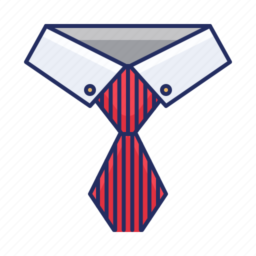 business, shirt, tie icon