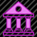 bank, building, finance, savings icon