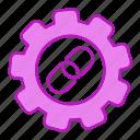 building, gear, link, url