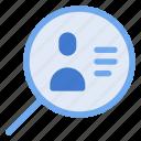employee, headhunter, hiring, recruitment icon