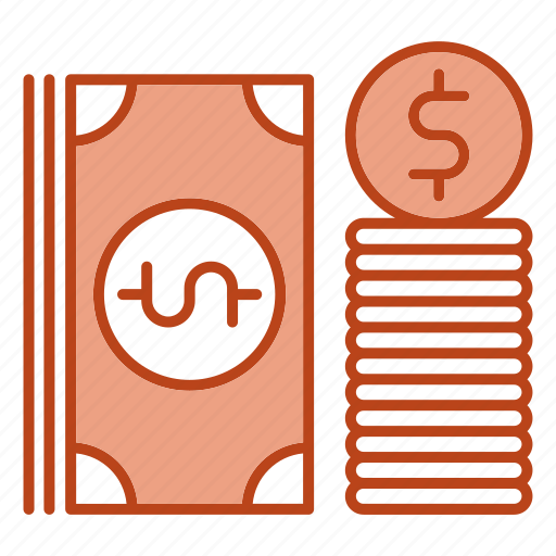 bundle, business, dollar, money icon