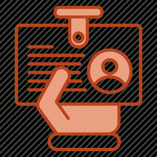 business, card, identity, presentation icon