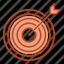 arrow, focus, goal, target