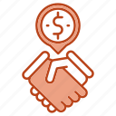 business, contract, deals, handsheck icon