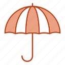 insurance, life, rain, umbrella icon