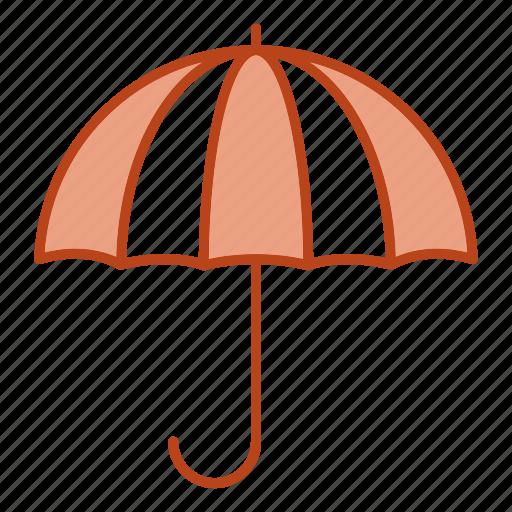 insurance, life, rain, umbrella icon