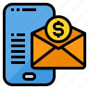 email, marketing, money, online, smartphone