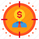 business, goal, idea, marketing, target
