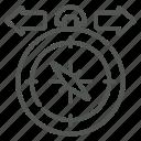 decision, direction, arrows, compass