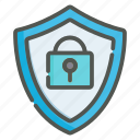 account, security, protection, shield