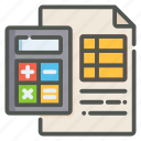 accounting, calculator, finance, data