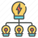 brainstorming, creativity, light bulb, idea