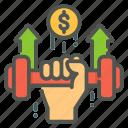 business, strength, finance, money