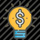 idea, creative, bulb, innovation