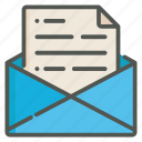 mail, message, email, inbox