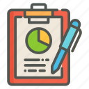 report, chart, statistics, business