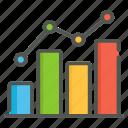 stocks, chart, analytics, graph