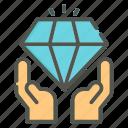 value, diamond, jewel, business