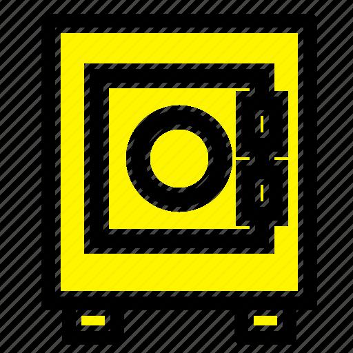 lock, locker, user icon