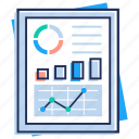 business chart, growing graph, statistics, trend analysis, trend graph icon