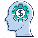 brainstorming, business idea, business innovation, business mind, creative marketing icon