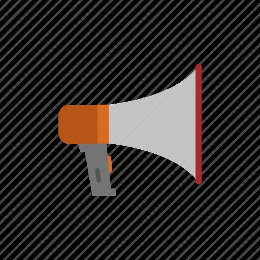 announcement, business, finance, marketing, megaphone icon