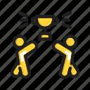 award, group, people, team, teamwork, trophy, winner