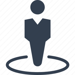 avatar, boss, business, center, circle, human, male, man, people, person, profile, social, strategy, user icon