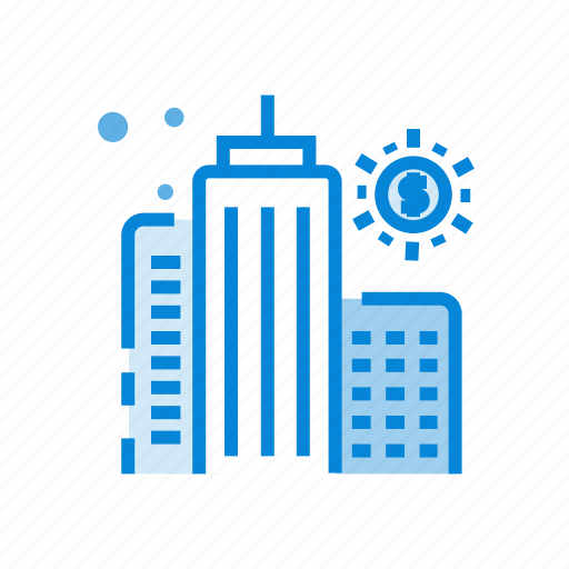 big, building, business, city, marketing, office icon