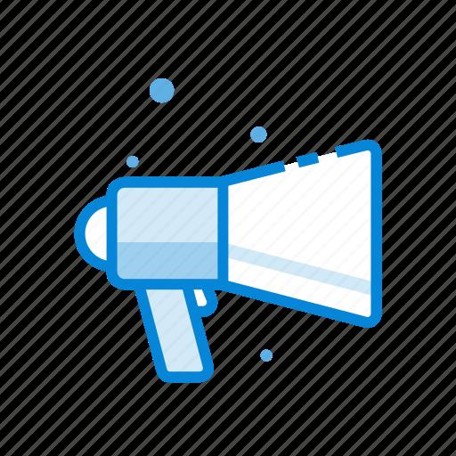 design, digital, marketing, megaphone, seo icon