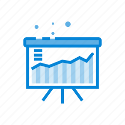 analystic, board, business, chart, market, office icon