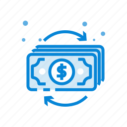 currency, dollar, flow, marketing, money icon
