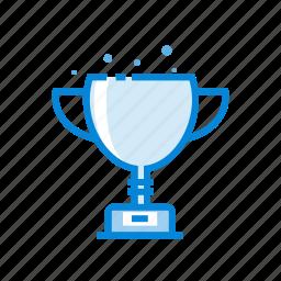achievement, best, cup, first, succes, trophy icon