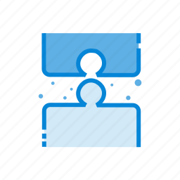 business, finance, money, puzzle, solution icon