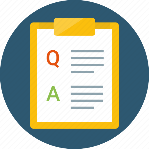 answers, form, issues, questionnaire, quiz, survey icon