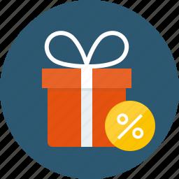 %, benefit, bonus, cash back, cashback, deals, discount, interest, percent, perks, sale, shopping, special offer icon
