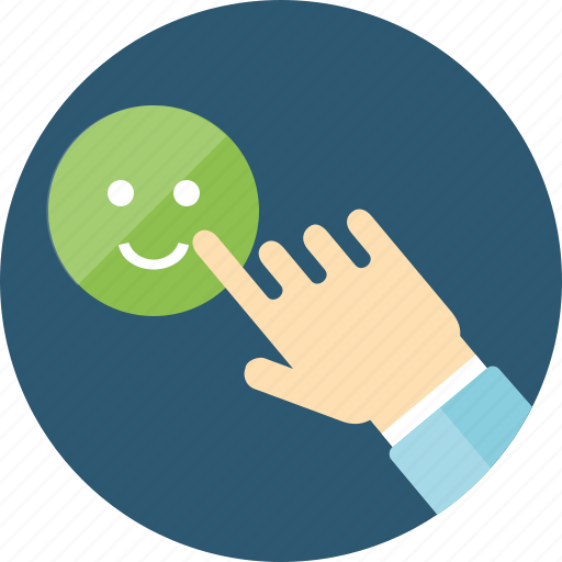 client loyalty, feedback, follow, review, satisfaction, satisfied, smiles, solve, testimonials icon