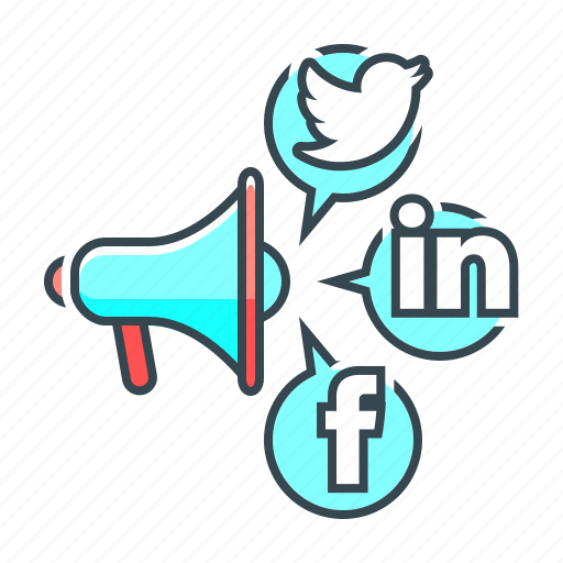 advertising, media, network, social, social media, social networks icon
