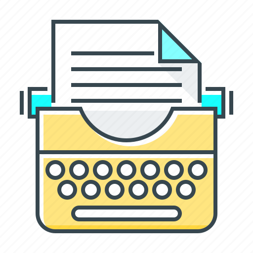 content, content writing, text, typewriter, write, writing icon
